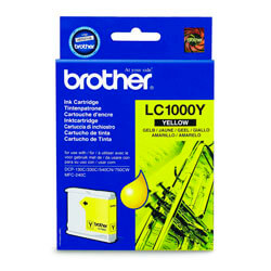 TINTA BROTHER LC1000Y AMARILLO | Quonty.com | LC1000Y