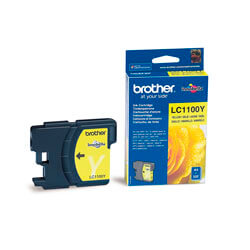 TINTA BROTHER LC1100Y AMARILLO | Quonty.com | LC1100Y