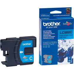 TINTA BROTHER LC980C CYAN | Quonty.com | LC980C