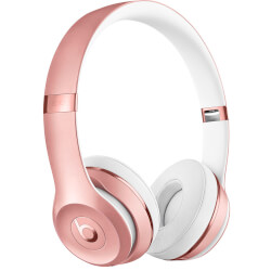 AURICULARES INALÁMBRICOS BEATS SOLO3 ORO ROSA | Quonty.com | MNET2ZM/A