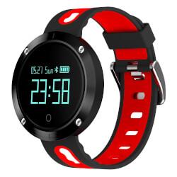 Reloj Inteligente Billow Xs30 1200mah Negro/Rojo | Quonty.com | XS30BR