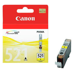 TINTA CANON CLI521Y AMARILLO | Quonty.com | 2936B001