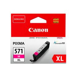 TINTA CANON CLI571XLM MAGENTA ALTA CAP | Quonty.com | 0333C001