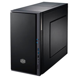 CAJA MINITORRE/MICRO-ATX COOLER MASTER SILENCIO 352 S/FUENTE USB3.0 C/LECTOR NEGRA | Quonty.com | SIL-352M-KKN1
