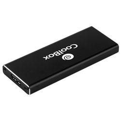 CAJA EXT. SSD COOLBOX MINICHASE M.2 USB3.0 NEGRA | Quonty.com | COO-MCAM2