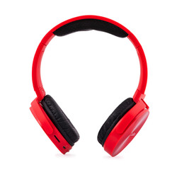 AURICULARES COOLBOX COOLMETAL BLUETOOTH ROJO | Quonty.com | COO-AUB-02RD