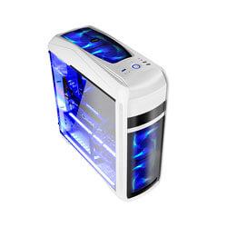 CAJA SEMITORRE/ATX COOLBOX DEEPSTING S/FUENTE USB3.0 BLANCA | Quonty.com | DG-C9K-WH-0
