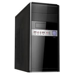 CAJA MINITORRE/MICRO-ATX UNYKA UK6011 500W USB2.0 NEGRA | Quonty.com | 51928