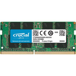 MEMORIA CRUCIAL SODIMM DDR4 8GB 2400MHZ CL17 SR | Quonty.com | CT8G4SFS824A