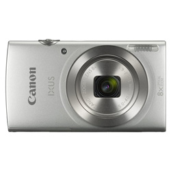 "CAMARA DIGITAL CANON IXUS 185 PLATA - 20MPX - LCD 2.7""/6.85CM - ZOOM 8X OPT ESTABILIZADOR IMAGEN - VIDEO HD - USB - DATE BUTTON - BATERIA 