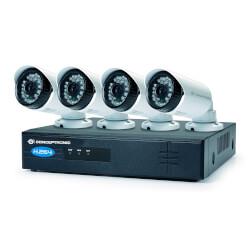 KIT DE VIGILANCIA IP CONCEPTRONIC C4CHIPSKIT 1280X720P 4TB | Quonty.com | C4CHIPSKIT