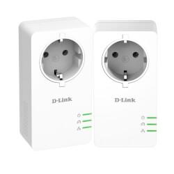 POWERLINE DLINK P601AV AV2 1000 HASTA 1000MBPS 1X LAN HD | Quonty.com | DHP-P601AV