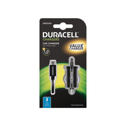 Cargador De Coche Duracell Usb 5v/1a Color Negro | Quonty.com | DR5005A