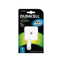 Cargador De Pared Duracell Usb 5v/2.4a | Quonty.com | DRACUSB2W-EU