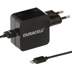 CARGADOR PARED DURACELL DRACUSB2-EU 1XUSB 5V 2.4A | Quonty.com | DRACUSB2-EU