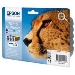 TINTA EPSON C13T071540 PACK 4 COLORES | Quonty.com | C13T07154020