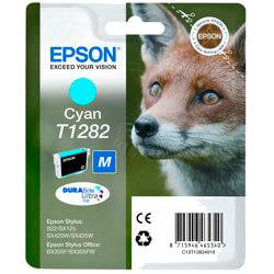 TINTA EPSON C13T12824010 CYAN S22/SX420/425/BF305F   Quonty.com   C13T12824010