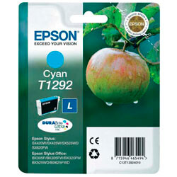 TINTA EPSON C13T12924010 CYAN   Quonty.com   C13T12924010
