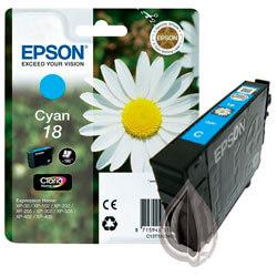 TINTA EPSON C13T18024010 Nº 18 CYAN | Quonty.com | C13T18024010