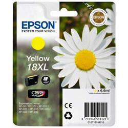 TINTA EPSON C13T18144010 Nº 18XL AMARILLA CLARIA | Quonty.com | C13T18144010