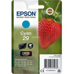 TINTA EPSON C13T29824012 Nº29 CYAN | Quonty.com | C13T29824012