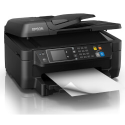 MULTIFUNCIÓN EPSON CON FAX WORKFORCE WF-2760DWF WIFI NEGRO 33PPM/COLOR 20PPM 4800X1200PX | Quonty.com | C11CF77402