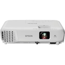 PROYECTOR PORTÁTIL 3LCD EPSON EB-W05 - 3300 LUMENES - 15000:1 - 1280X800 WXGA - ZOOM MANUAL 1.2X - VGA/HDMI/COMPUESTO/USB - ALT. 2W | Quonty.com | V11H840040