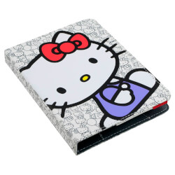 FUNDA E-VITTA HELLO KITTY BOOKLET BLANCA EBOOK 6'' | Quonty.com | EVEBP00403