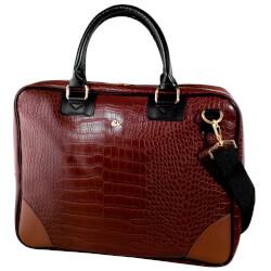MALETIN E-VITTA BUSINESS ADVANCE BROWN 16'' | Quonty.com | EVLB000262