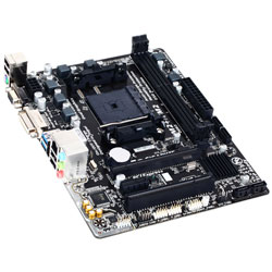 PLACA GIGABYTE F2A68HM-DS2 AMD FM2+ DDR3 DVI PCIE3.0 SATA3 USB3.0 MATX | Quonty.com | GA-F2A68HM-DS2