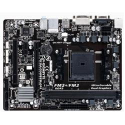 PLACA GIGABYTE F2A88XM-DS2 AMD FM2+ 2DDR3 DVI/VGA PCIE3.0 4SATA3 4USB3.0 ATX | Quonty.com | GA-F2A88XM-DS2