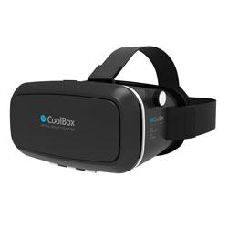 GAFAS 3D REALIDAD VIRTUAL COOLBOX COOLGLASSES | Quonty.com | COO-VR3D-01