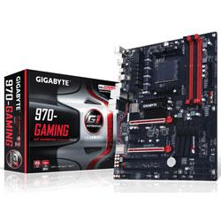 PLACA GIGABYTE 970 GAMING AMD AM3+ DDR3 6SATA3 USB3.1 ATX | Quonty.com | GA-970-GAMING