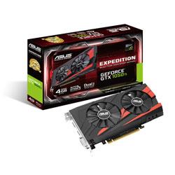 ASUS EX-GTX1050TI-4G 4GB GDDR5 PCIE3.0 | Quonty.com | 90YV0A52-M0NA00