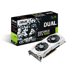 ASUS DUAL-GTX1060-O3G 3GB GDDR5 PCIE3.0 | Quonty.com | 90YV09X3-M0NA00