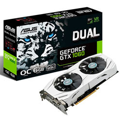 ASUS DUAL-GTX1060-O6G 6GB GDDR5 PCIE3.0 | Quonty.com | 90YV09X0-M0NA00