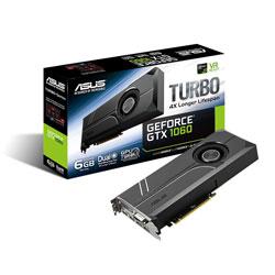 TARJETA GRAFICA ASUS TURBO-GTX1060-6G 6GB GDDR5 PCIE3.0 HDMI | Quonty.com | 90YV09R0-M0NA00