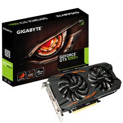 TARJETA GRAFICA GIGABYTE GV-N105TWF2OC-4GD 4GB GDDR5 PCIE3.0 HDMI GEFORCE GTX1050 | Quonty.com | GV-N105TWF2OC-4GD
