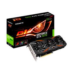GIGABYTE GV-N1070G1 GAMING-8GD 8GB GDDR5 PCIE3.0 | Quonty.com | GV-N1070G1 GAMING-8GD