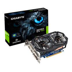 GIGABYTE GV-N75TOC-2GI 2GB GDDR5 PCIE3.0 | Quonty.com | GV-N75TOC-2GI