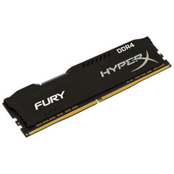 MEMORIA KINGSTON DIMM DDR4 8GB 2400MHZ CL15 HYPERX FURY | Quonty.com | HX424C15FB2/8