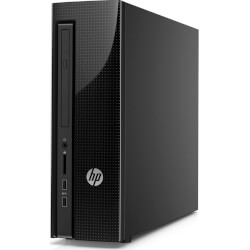 PC HP SLIMLINE 260-A102NS AMD E2-7110 4GB H1TB W10 | Quonty.com | Y1D21EA