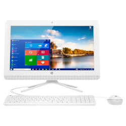 ALL IN ONE HP 24-G006NS I3-6100U 23.8'' 4GB BLANCO | Quonty.com | W3E72EA