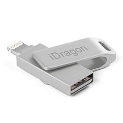 PENDRIVE IDRAGON 32GB USB DUO LIGHTNING / USB - IPHONE/IPAD/IPOD | Quonty.com | IDRAGON-LU-32GB