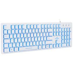TECLADO BLUESTORK KB-W-LUMI-SP USB BLANCO | Quonty.com | KB-W-LUMI-SP