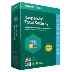 ANTIVIRUS KASPERSKY TOTAL SECURITY 2018 3L | Quonty.com | KL1919S5CFS-8