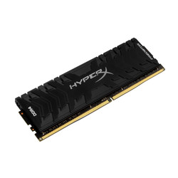 KINGSTON DDR4 16GB 2666MHZ CL13 HYPERX PREDATOR BLACK | Quonty.com | HX426C13PB3/16