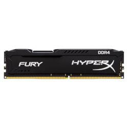 KINGSTON DDR4 8GB 2666MHZ CL16 HYPERX FURY BLACK | Quonty.com | HX426C16FB2/8
