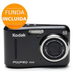 CÁMARA DIGITAL KODAK PIXPRO FZ43 16MPX LCD2.7'' | Quonty.com | FZ43BK