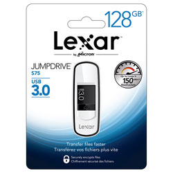 PENDRIVE LEXAR 128GB USB3.0 S25 NEGRO | Quonty.com | LJDS25-128ABEU